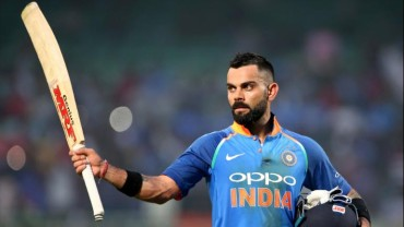 Kohli first captain to score five straight fifties in WC history