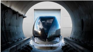 Hyperloop track to be built in Saudi Arabia