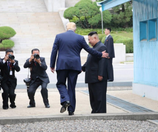 Trump 1st sitting US President to set foot on North Korean soil
