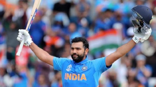 Rohit breaks Gayle's record of most sixes in T20I cricket history