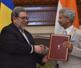 St Vincent & Grenadines 79th to join India-led Int'l Solar Alliance