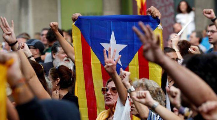 Catalonia leaders jailed by Spanish court