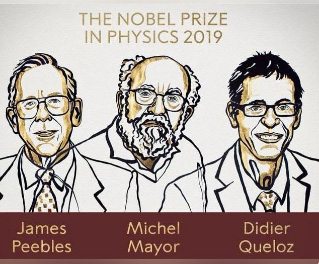 Physics Nobel awarded for cosmology and exoplanet discoveries