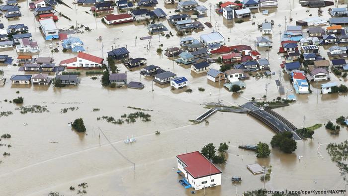Typhoon Hagibis Leaves A Trail Of Destruction Across Japan