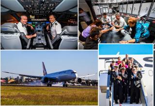 Longest non-stop passenger flight
