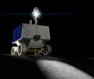 NASA to send rover to map water ice on Moon's south pole in 2022