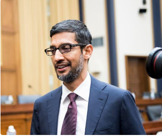 What is the life journey of Sundar Pichai, CEO of Alphabet and Google?