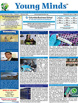 Young Minds, Volume-XII, Issue-32