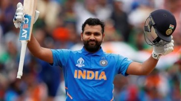 Rohit equals Kohli to score 8 hundreds against Australia in ODI cricket