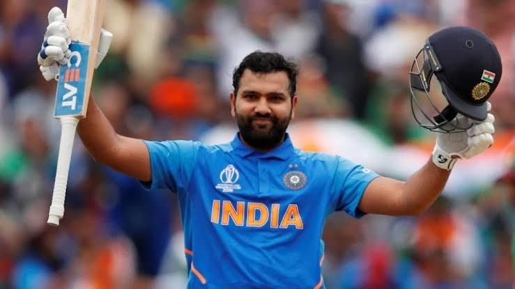 Rohit equals Kohli to score 8 hundreds against Australia in ODI cricket