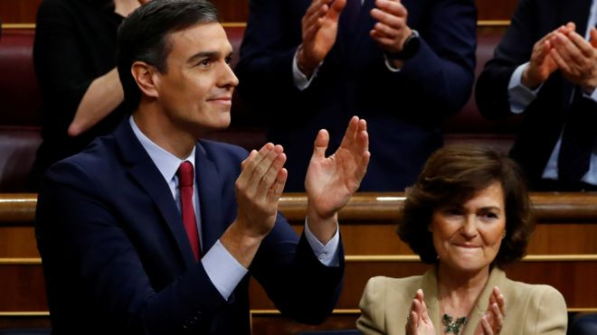 Pedro Sánchez Will Lead Modern Spain's First Coalition Government