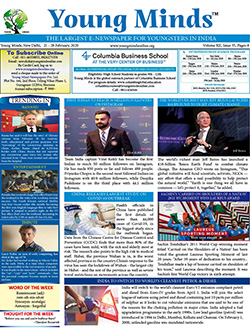 Young Minds, Volume-XII, Issue-35