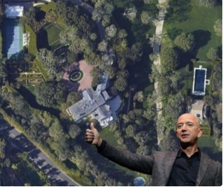 Bezos buys most expensive property in Los Angeles with 0.126% of his net worth