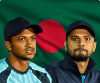 Shakib Al Hasan, ex-captain Mortaza excluded from BCB annual contract list
