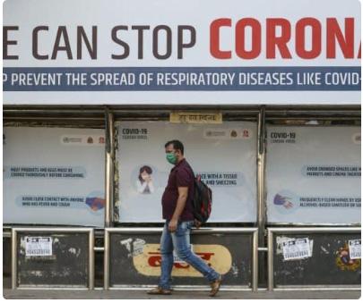 1.7 billion people around world under coronavirus lockdown