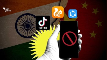Ban on Chinese apps in India