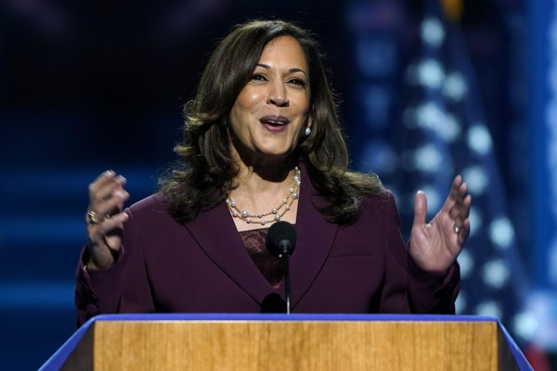 Kamala Harris scripts history as she accepts Democratic Party's nomination for US vice-president