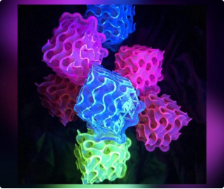 The brightest fluorescent materials ever made