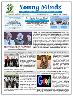 Young Minds, Volume-XIII, Issue-16