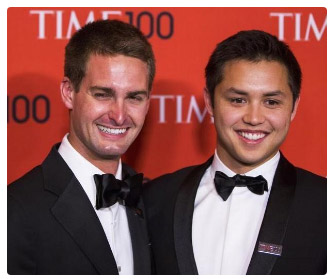 Snapchat Co-Founders Share $2.7 Billion Windfall