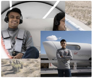 Most memorable 15 seconds: First Indian to ride a hyperloop