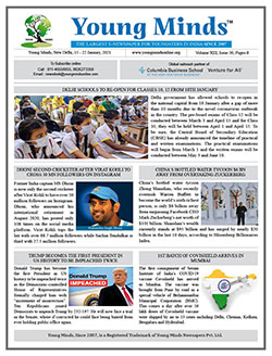 Young Minds, Volume-XIII, Issue-30