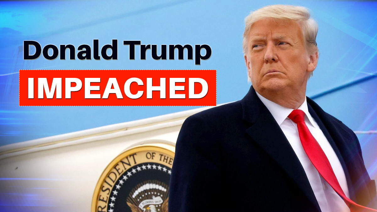 Trump becomes the first President in US history to be impeached twice