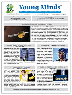 Young Minds, Volume-XIII, Issue-34