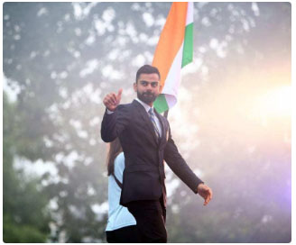 Kohli becomes 1st Indian, 1st Asian, 1st cricketer to reach 100 mn Instagram followers