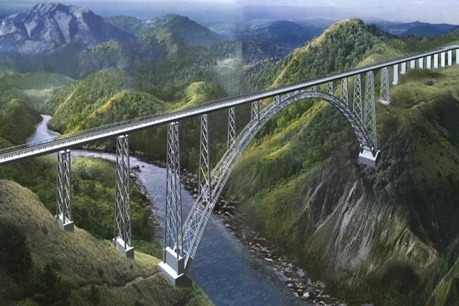 India Builds the World's Highest Chenab Railway Bridge in Jammu & Kashmir