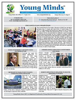 Young Minds, Volume-XIII, Issue-43