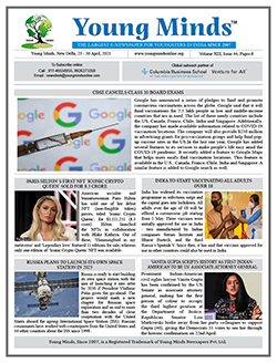 Young Minds, Volume-XIII, Issue-44