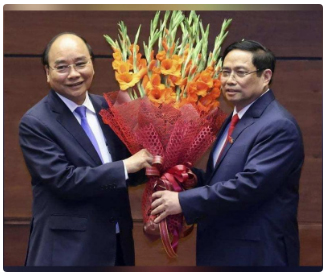 Vietnam's National Assembly elects new President & PM