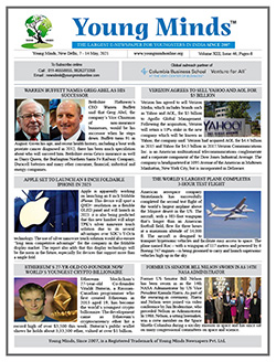 Young Minds, Volume-XIII, Issue-46