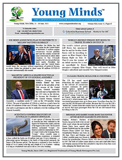Young Minds, Volume-XIII, Issue-51