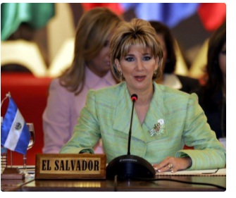 Ex-First Lady of El Salvador jailed for 10 years