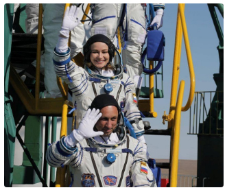 Russian actress reaches ISS to make 1st movie in space